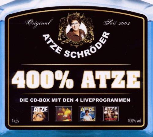 Schröder - 400% Atze-die Atze CD-Box